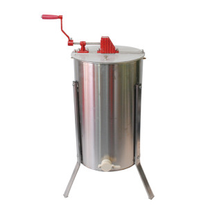 Beekeeping Tools stainless steel 3 frames manual honey extractor honey processing machine