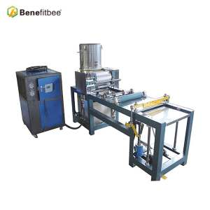 Popular beekeeping equipment beeswax comb foundation machine