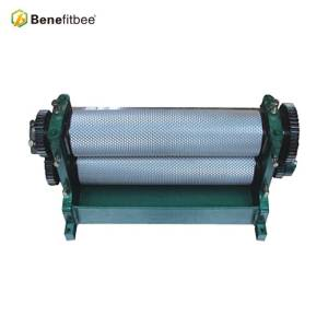 Hot sale Beekeeping Roller  Manual Beeswax Comb Foundation Machine Benefitbee