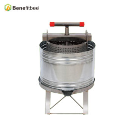Benefitbee Good Quality SUS201 Honey Beewax Press With Splash Collar For Wholesale Price
