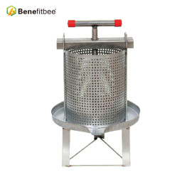 Benefitbee Beekeeping Machine SUS201 Mesh Honey Beewax Press  For Wholesale Price