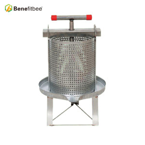 Beekeeping Machine SUS201 Mesh Honey Beewax Press  For Wholesale Price