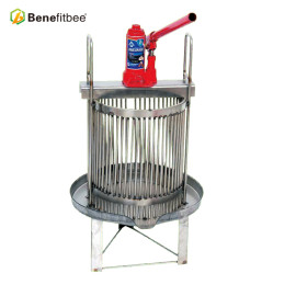 Benefitbee Beekeeping Machine  Stainless Steel Jack Honey Beewax Press  With Good Quality