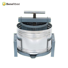 Benefitbee Beekeeping Machine  Knocked Down Iron Wax Press With Splash Collar For Wholesale Price