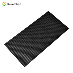 Double Size High Quality Raw Beewax Black Plastic Honey Combs For Beekeeping Equitments
