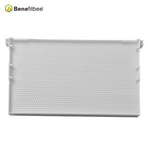 High Quality Raw Beewax White Plastic Honey Combs For Beekeeping Equitments