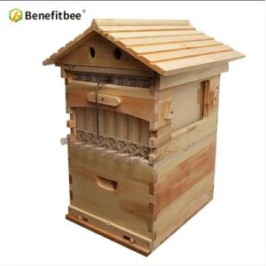 Flowing Beekeeping Wooden hive chinese honey flow hive