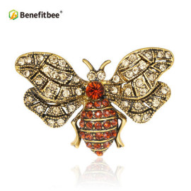 Benefitbee new fashion bee brooch pin crystal bee brooch