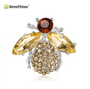 new fashion bee brooch pin crystal bee brooch