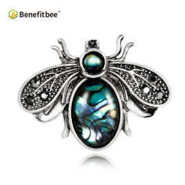 Benefitbee new fashion bee brooch pin crystal vintage bee brooch