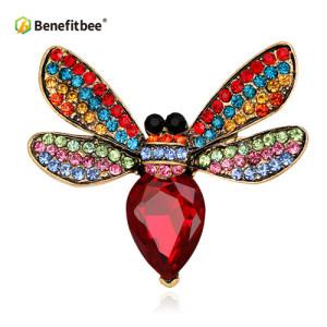Benefitbee crystal bee brooch popular bee brooch pin