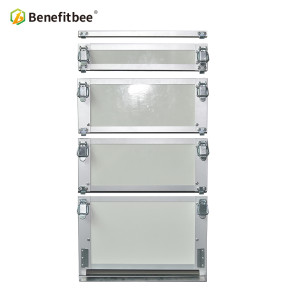 Manufacture Best Quality heat preservation Beehive sunproof hive