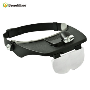 Hot sale Beekeeping Led magnifier Tool Head Loupe