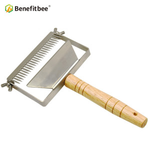 big adjustable Stainless Steel honey Uncapping Honey Fork