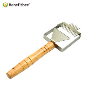 Stainless Steel honey Uncapping Honey Fork For Beekeeping Honey Scraper