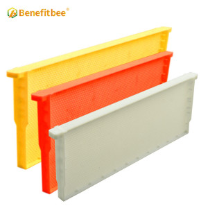 Newest seamless plastic bee hive frames langstroth beehive plastic frame