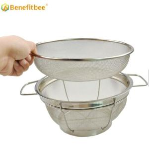 High Quality beekeeping equipment honey strainer Stainless Steel Double Sieve honey filter
