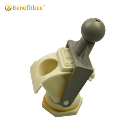Benefitbee Honey extractor tool yellow ABS material honey gate for beekeeping equipment