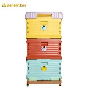 Benefitbee Hot Sale Hive Box Multifunction plastic beehive(Three layers)