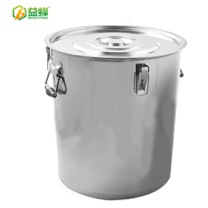 Beekeeping Equipment 25KG Stainless Steel Honey Tank With Honey Gate