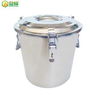 Good Quality 25KG Stainless Steel Honey Tank With Honey Gate for Beekeeping Equipment