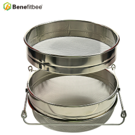 Beekeeping Equipment Double Layers Honey Strainer Filtering Machine With High Quality