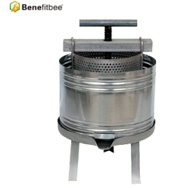 Benefitbee Beekeeping Iron Stainless Steel Material Honey Bee Wax Press Machine For Hot Sale