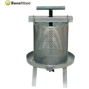 Beekeeping Machine  Knocked Down Iron Wax Press With Splash Collar For High Quality