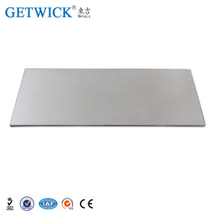 Tungsten Plates Sheets W1 with Corrosion Resistance Property