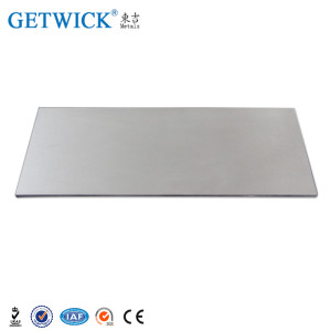 2018 Hot Sale Tungsten Plates for Vacuum Melting Industry