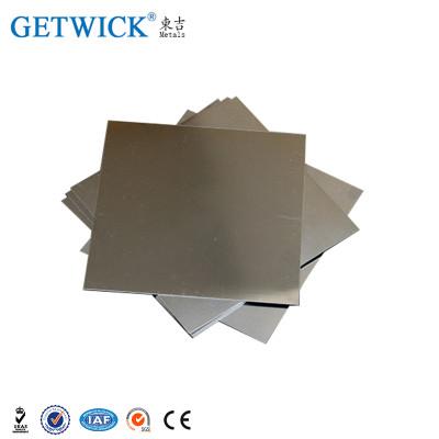 Folha de molibdênio de alta qualidade e placa personalizada para venda
