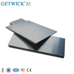 99.95% W1 Tungsten Plate Sheet Metal