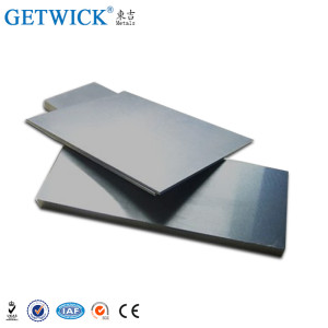 Alta Qualidade 99.7% Vanádio Placa / folha