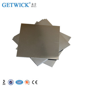 higher density tungsten copper alloy WCu strip on hot sale