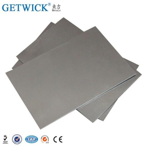 Nitinol Blatt Ti-Ni Nickel Titan Elastische Form Speicher Nitinol Blatt
