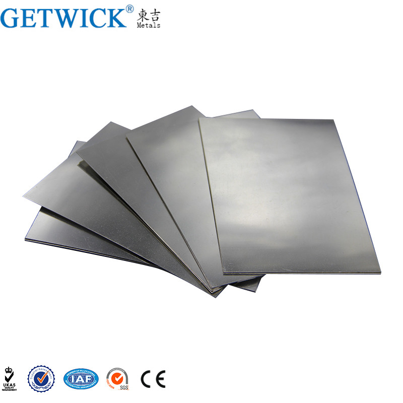 99.95% Pure W1 W2 Tungsten plate for industrial use