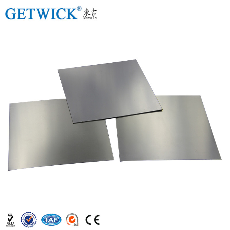 GETWICK 99.95% tungsten plate and tungsten sheet