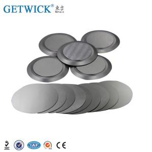 Disco de oblea de tungsteno electropulido de alta densidad con diferentes diámetros
