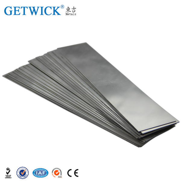 China factory supplier 99.95% pure tungsten sheet plate