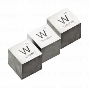 desk art used tungsten cube