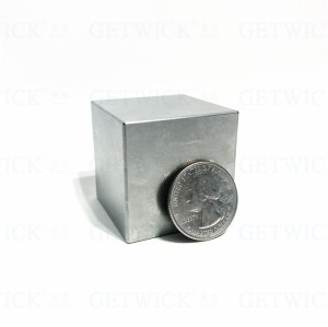 High quality 38.1mm 1kg tungsten cube price and wolfram cube CNC marking for sale