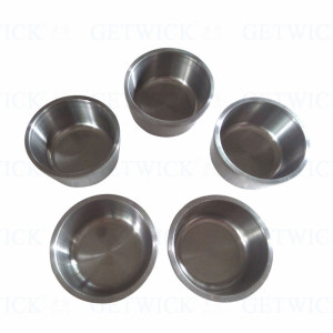 China factory polished tungsten crucible for sale