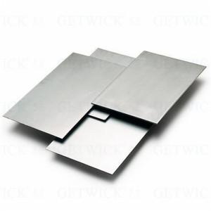 Mo molybdenum sheet for radial heat shield