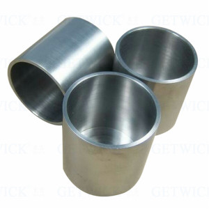 Supply 99.95% Wolfram Metal Melting Container Tungsten Crucible