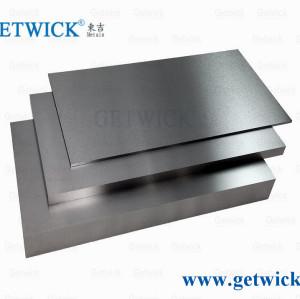 99.95% pure molybdenum plate molybdenum sheet shiny surface