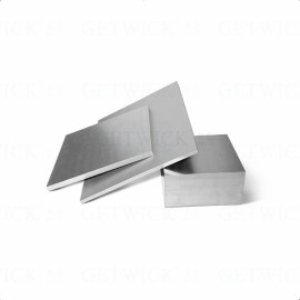 Tungsten Sheet Customizable Size from getwick