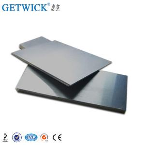 碱性清洁钨板