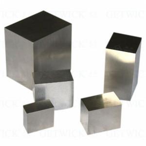 Tungsten cube 1kg tungsten cylinder block for toy cars balance weight