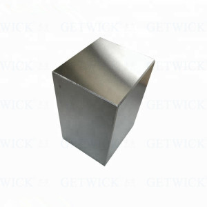 Polished Tungsten cube 1/4'' size tungsten cube 1kg price