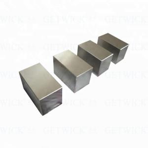 Supplier wolfram metal block tungsten cube 1kg from GETWICK